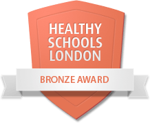 Healthy Schools Bronze Award logo