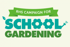 RHS Campaign for School Gardening logo